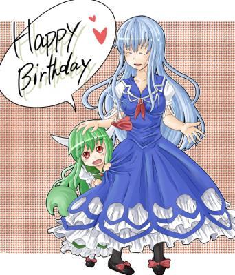 祈鳥さんの誕生日です