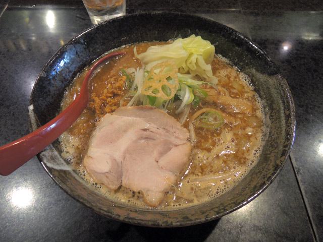 麺処_蓮海_まぐろ豚骨味噌ラーメン
