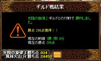 2013-01-29-vs光陰の旋律_I-Gv結果