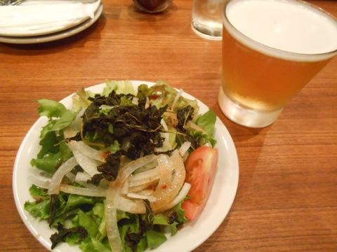 桑の葉サラダ