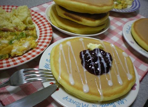 2011.10.14 日常 なまなまホットケーキw 5