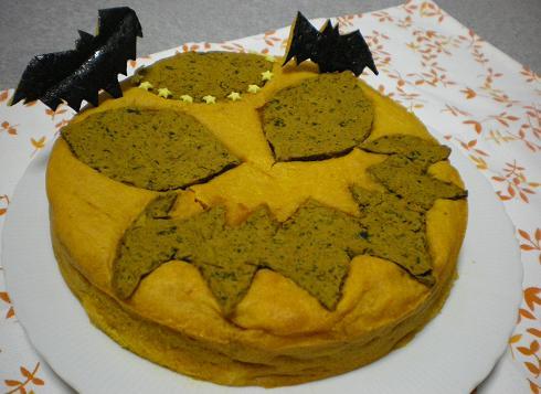 2011.10.24 リアルかぼちゃケーキw 4