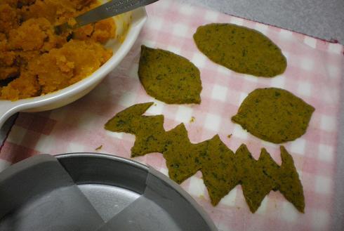 2011.10.24 リアルかぼちゃケーキw 2