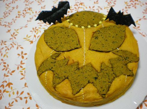 2011.10.24 リアルかぼちゃケーキw 1