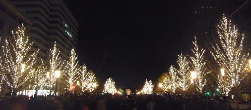 2011.12.24分 クリスマス都内ブラブラw 2