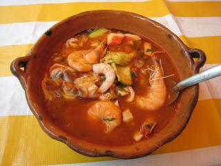海鮮スープ!