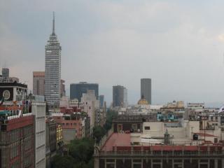 メキシコシティの眺め!