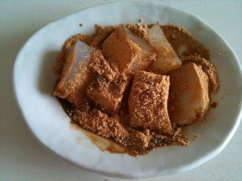 ワラビ餅風コンニャク