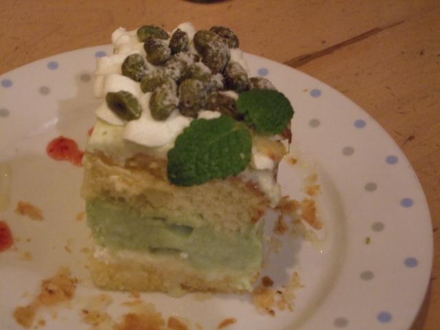 枝豆のショートケーキ