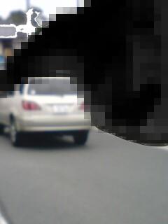 ストーカー車 3535 連携プレーで車のかたまりに登場