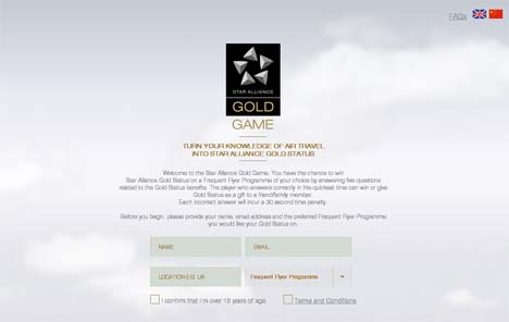 Star Alliance - The Gold Game