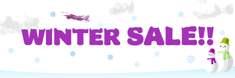 WINTER SALE Peach Aviation