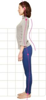 出っ尻で反り腰は、腰痛の大きな原因です。