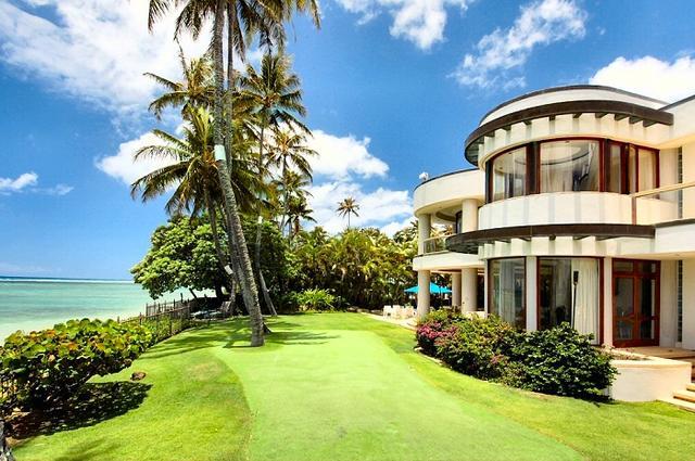 私が住みたいハワイのプール付の家