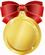 メダル赤極小