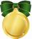 メダル緑極小