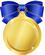 メダル青極小