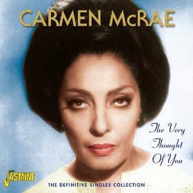 Carmen McRae(I Cried for You)