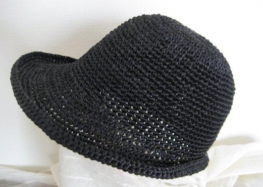 エコアンダリヤの帽子 #30 黒
