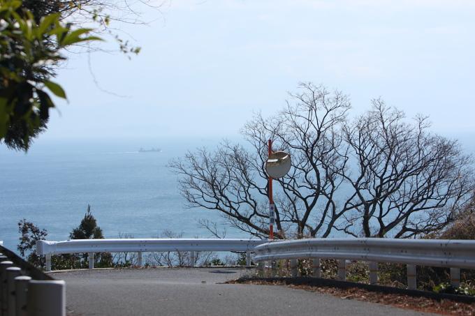 海の見える風景