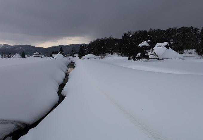 豪雪の芸北