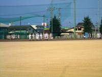 10.7.23 新居浜東高校野球部のボール回し2