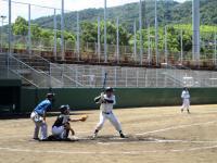10.8.28 バッターボックスの石川選手1