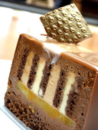 『フィオレンティーナ』のチョコケーキ