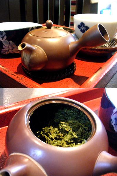 『喫茶 つきまさ』の煎茶 山吹