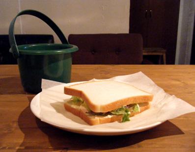 『Baby King Kitchen(ベイビー キング キッチン)』のハムチーズサンド