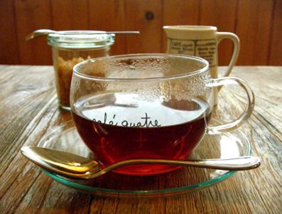 『カフェ・キャトル』のグリル野菜のドリヤ風プレート