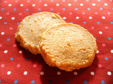 『ジュヴォー ル パティシェ プロヴァンサル』のチーズのクッキー
