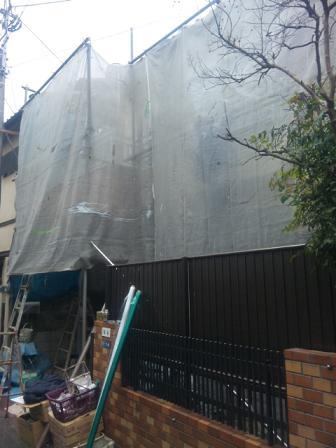 未来住建外壁塗装柏谷様①