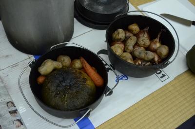 夏野菜がホクホクに焼きあがりました