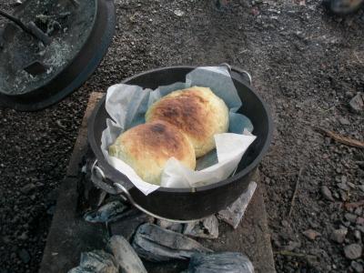 こんがり焼けた朝ごパン