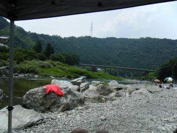 反対側の景色