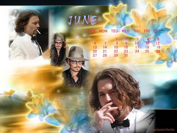 ブログ用カレンダー20106月
