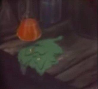 4 アニメ、ヘドロが落ちる