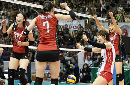 日本がブラジルにストレート勝利、女子バレーW杯