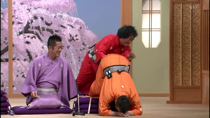【笑点】で大爆笑?…山田君の珍プレー(?)たい平の言葉に怒って座布団を…でも外れない(笑)