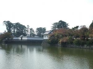 小田原城お濠2