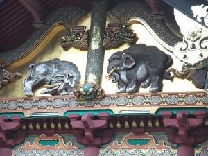 東照宮1の象さん