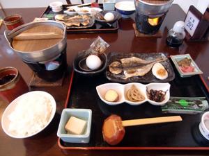 一の湯朝食