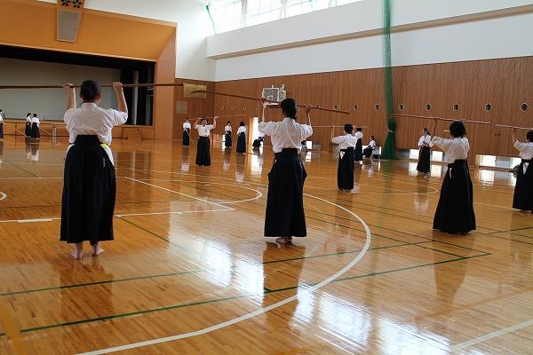薙刀審査会・稽古会 25・9/8・・・8