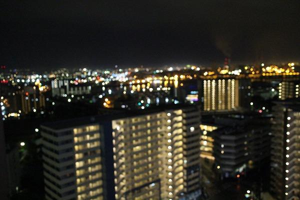 千葉のホテル窓から2