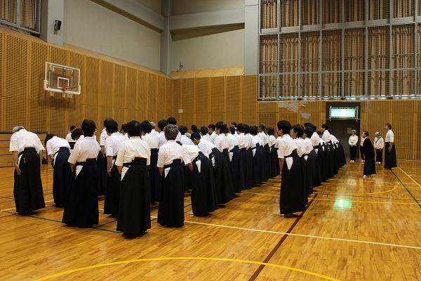 25薙刀審査会開会式