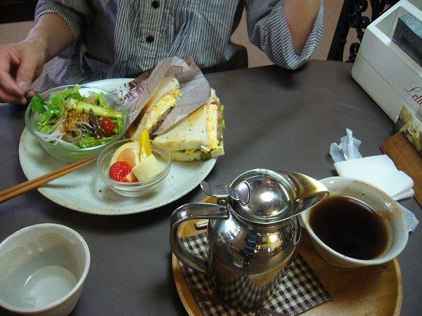 陶花サンドモーニング