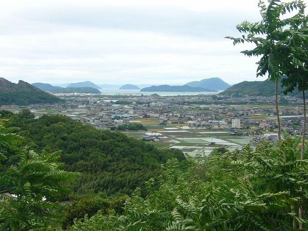 爺神山から汐木山