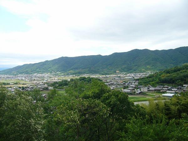 爺神山から七宝山