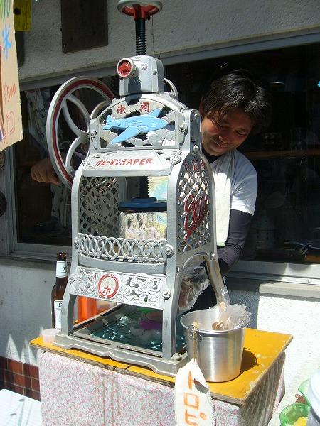 かき氷作り機手動